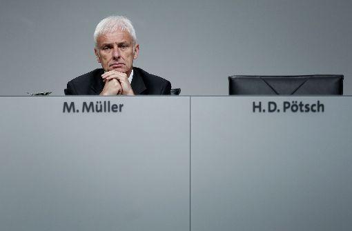 Ermittlungen gegen VW-Konzernchef Müller