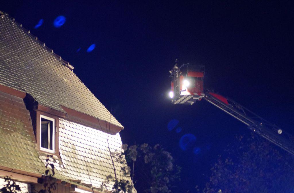 Ein 53-Jähriger ist bei einem Brand in Weinsberg ums Leben gekommen. Foto: 7aktuell.de/Franziska Hessenauer