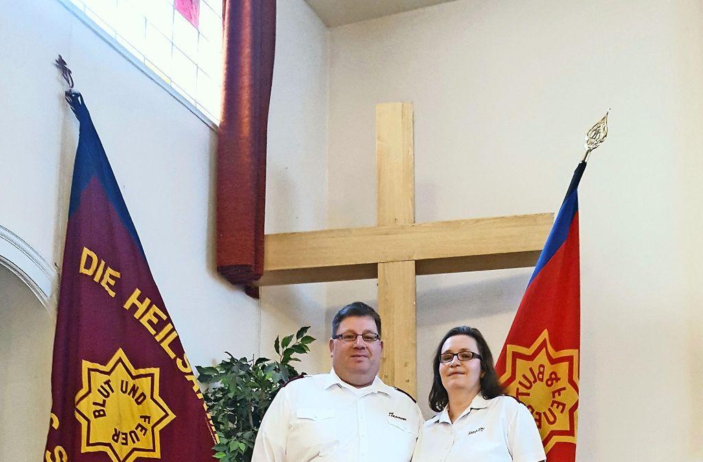 Birgit und Markus Piechot   sind seit 2015 Pastoren in Stuttgart West. Foto: Kathrin Wesely