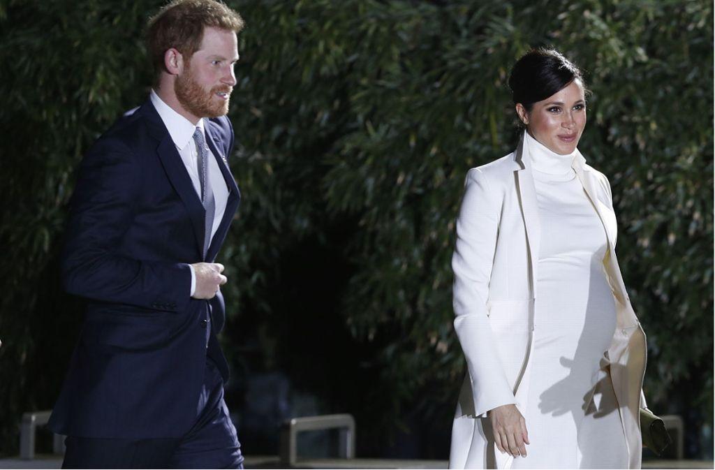Prinz Harry und Herzogin Meghan sind Gäste der VIP-Gala des Museums. Foto: AP