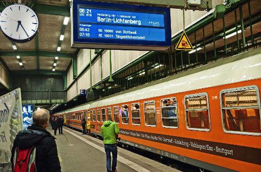 Land will mehr Bahnwettbewerb