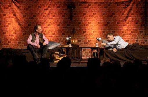 Zwei Männer und ihre Nacht mit Luther