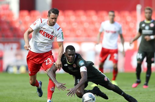 1. FC Köln gibt 2:0-Führung aus der Hand