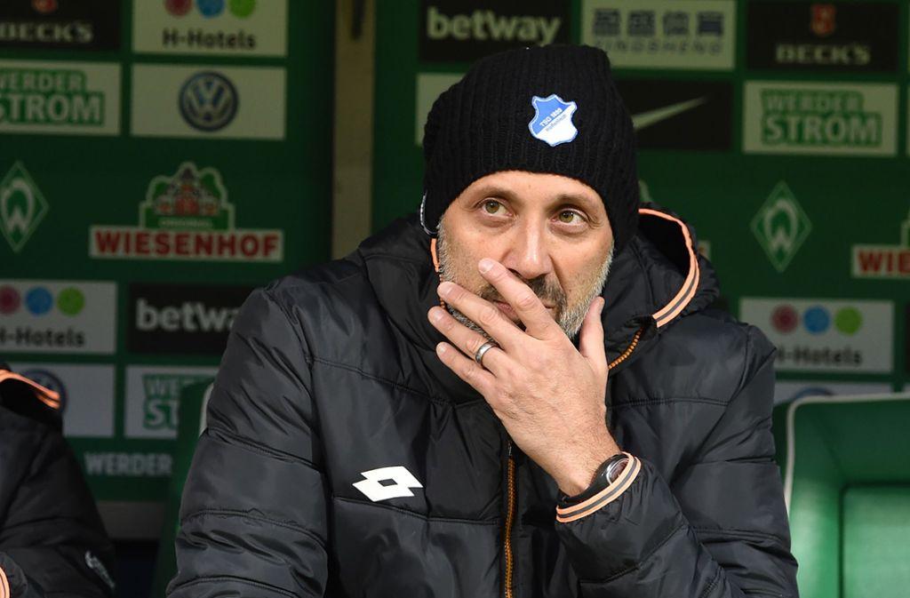 Pellegrino Matarazzo tritt die Nachfolge von Trainer Tim Walter an. Der 42-Jährige war zuvor Co-Trainer bei der TSG Hoffenheim und erhält beim VfB einen Vertrag bis 2021. Foto: dpa