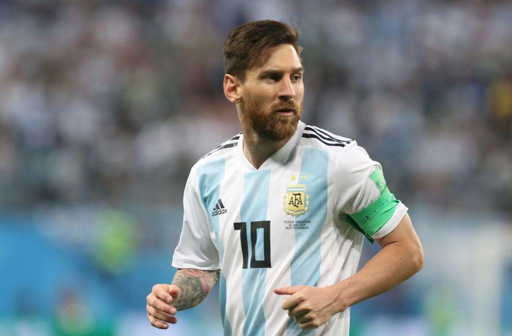 Lionel Messi spielt wieder für Argentinien. Foto: dpa