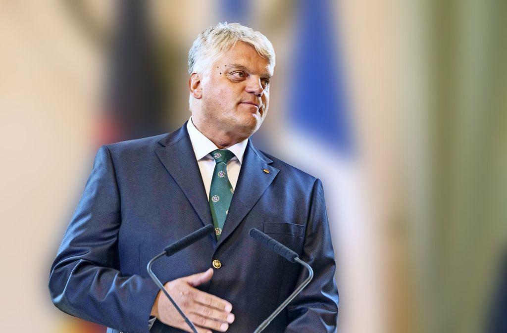 Für einen entspannten Umgang mit Anträgen zum Moschee-Bau in Deutschland plädiert der Religionsbeauftragte der Bundesregierunng Markus Grübel (CDU). Foto: EPA