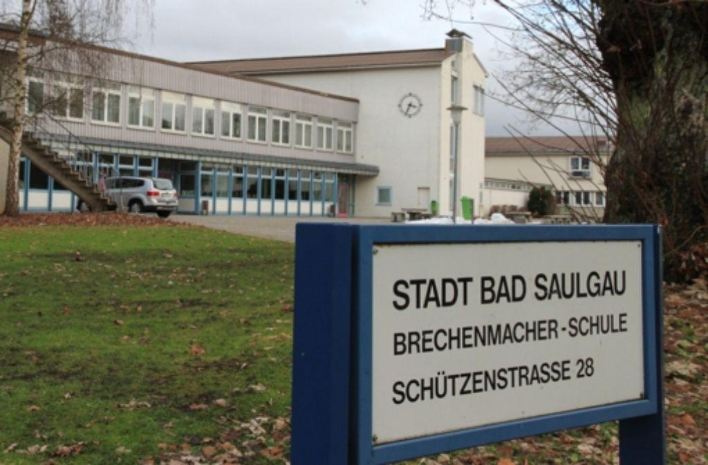 Gegenstand des Bürgerentscheids: die Brechenmacher-Schule in Bad Saulgau. Foto: dpa