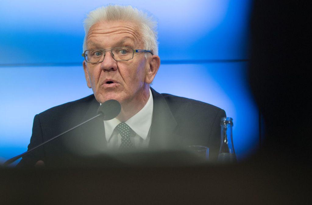 Winfried Kretschmann gibt sich überzeugt, dass man sich mit der CDU einigen werde. Foto: dpa