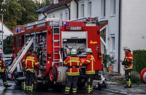 Heißes Öl setzt Küche in Brand