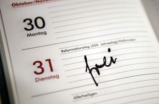 Reformationstag wird kein gesetzlicher Feiertag