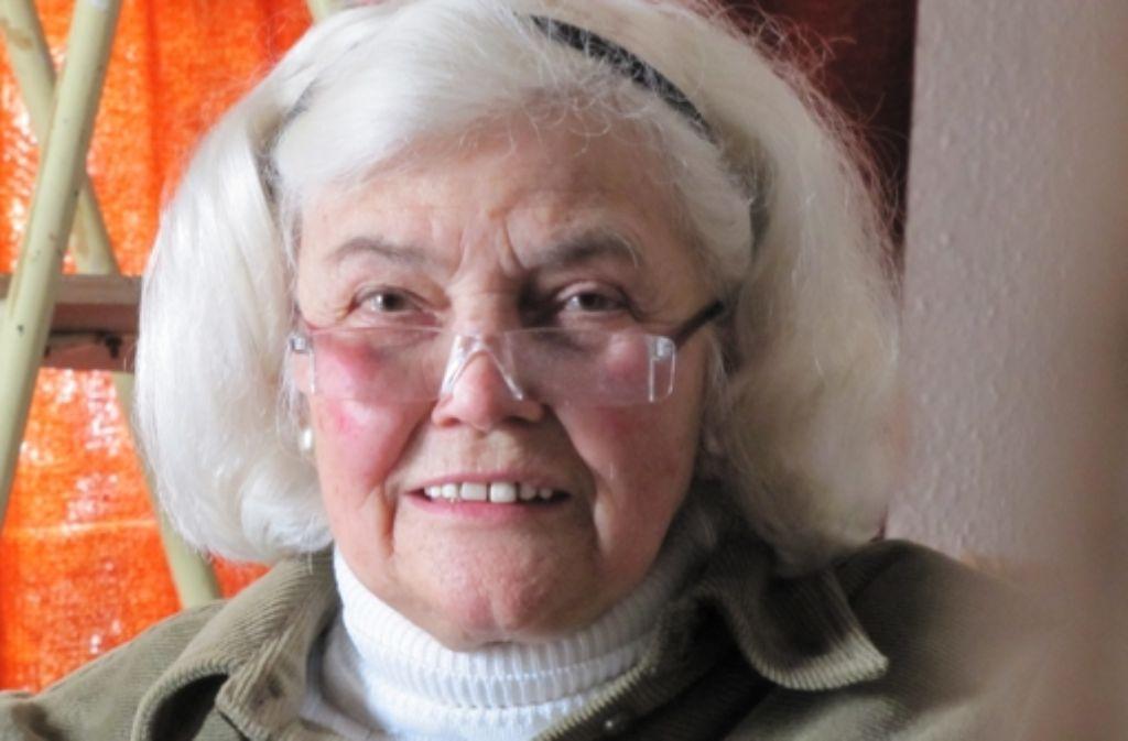 Das Schicksal war hart zu Maria Eisenhut. Foto: Judith A. Sägesser