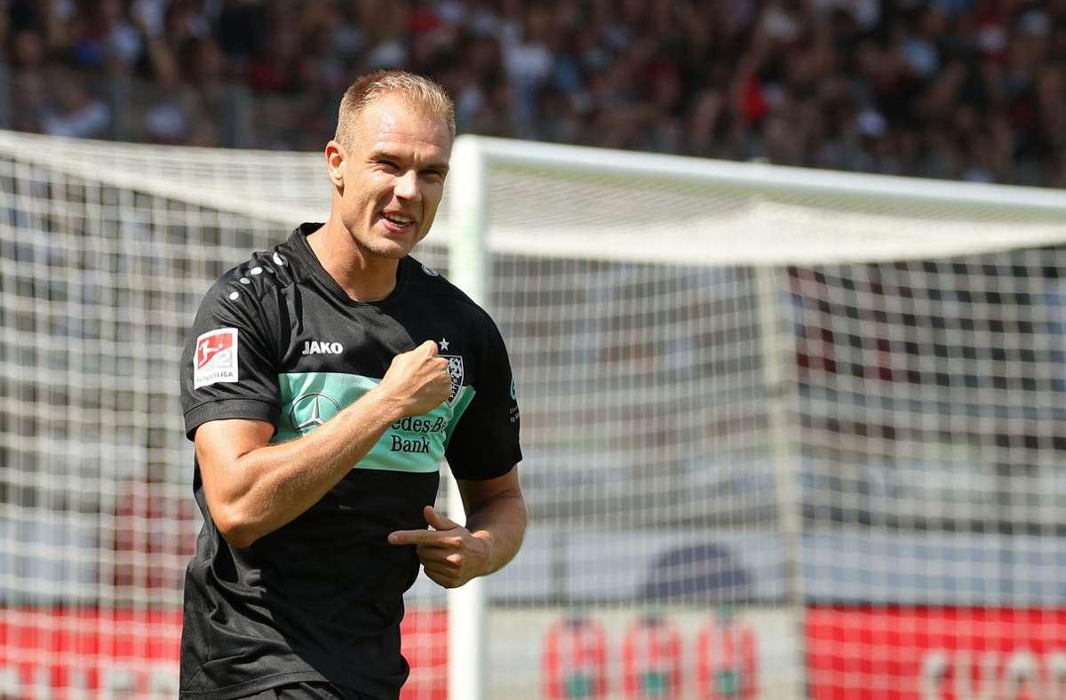 Wie geht es für Holger Badstuber beim VfB Stuttgart weiter? Foto: dpa/Daniel Karmann
