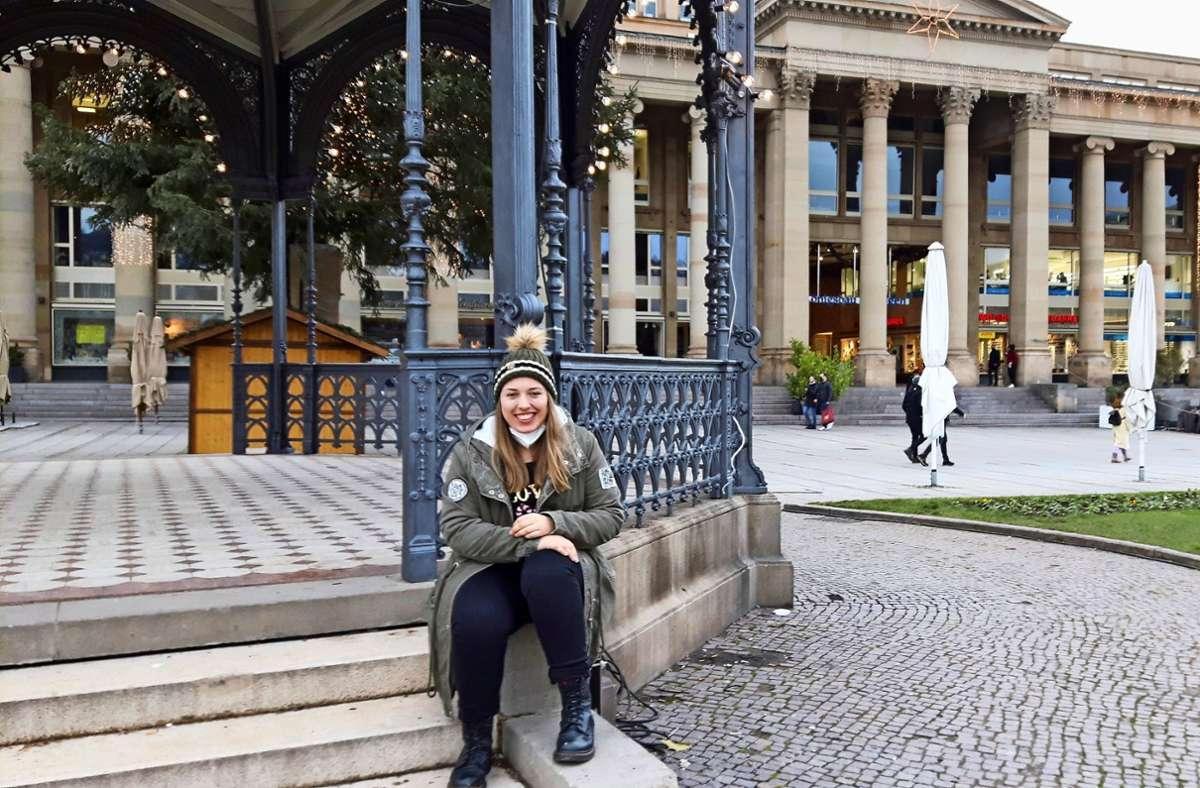 Zurück aus Frankreich: Leah Kedziora freut sich auf Weihnachten daheim. Foto: