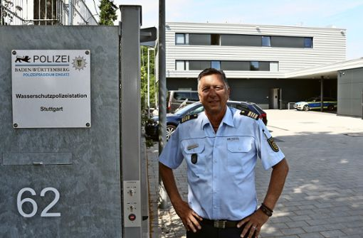 Patrouille auf 75 Neckar-Kilometern