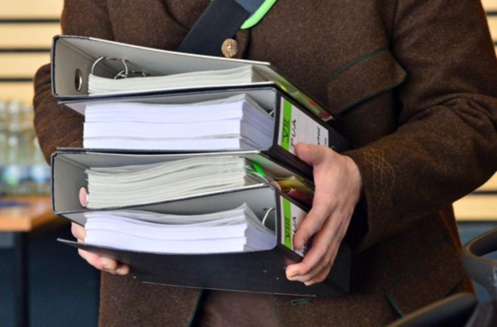 Der Untersuchungsausschuss zum S-21-Polizeieinsatz im Jahr 2010 will Akteneinsicht. Foto: dpa