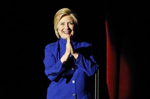 Clinton hat genug Stimmen für Spitzenkandidatur
