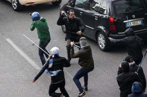 Rom-Ultra im Visier der Polizei