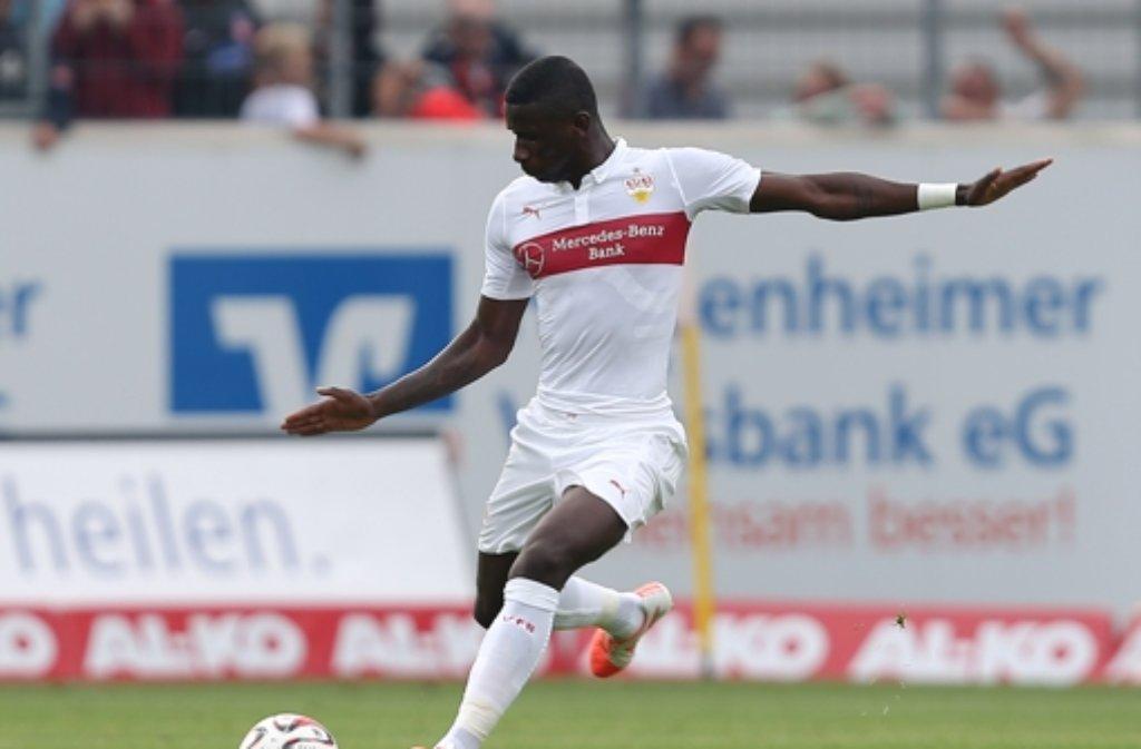 Antonio Rüdiger vom VfB Stuttgart steht zum zweiten Mal im Aufgebot des DFB-Teams. Foto: Pressefoto Baumann