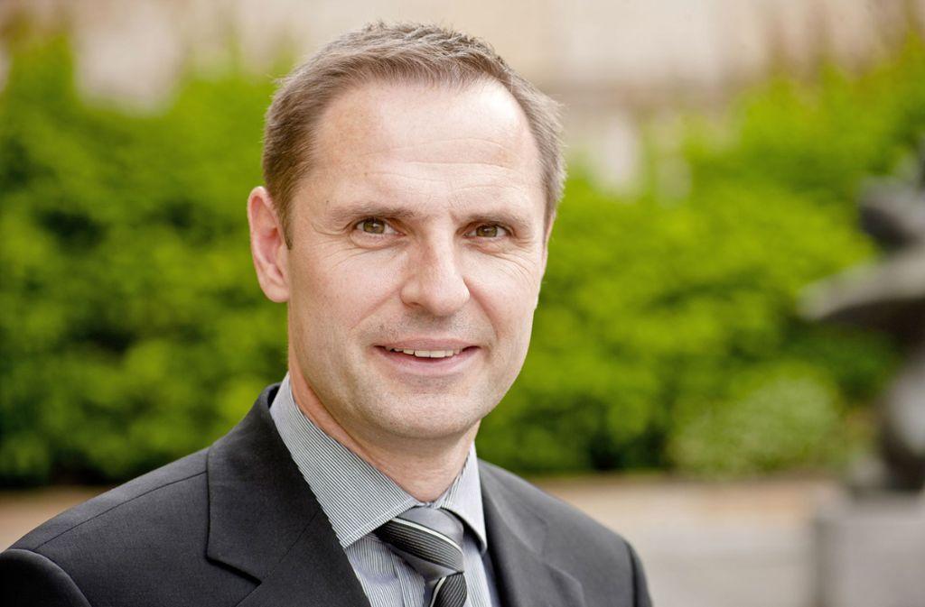 Dirk Rieker bereitet den Steinmeier-Besuch  in der Staatsgalerie mit vor. Foto: Staatsgalerie