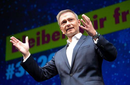 Christian Lindner bleibt Vorsitzender und wird Spitzenkandidat