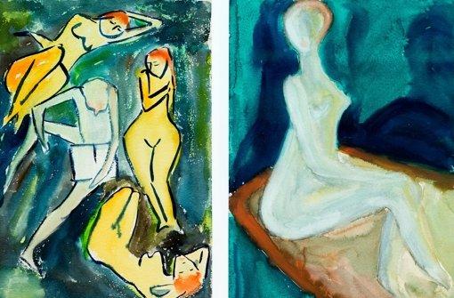 Wie Günter Grass als Student malte