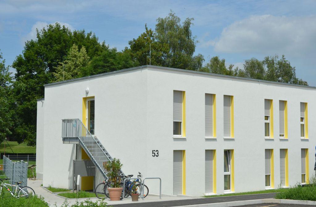 Die Obdachlosenunterkunft Im Moldengraben. Foto: