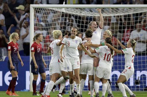 England nach 3:0 gegen Norwegen im Halbfinale