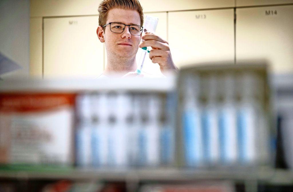 Praktikumsstellen wie diese in der Kinderklinik des Rems-Murr-Klinikums, sind gefragt. Foto: Gottfried Stoppel