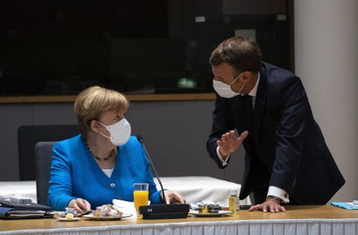 Merkel, Macron und Conte drohen mit Sanktionen