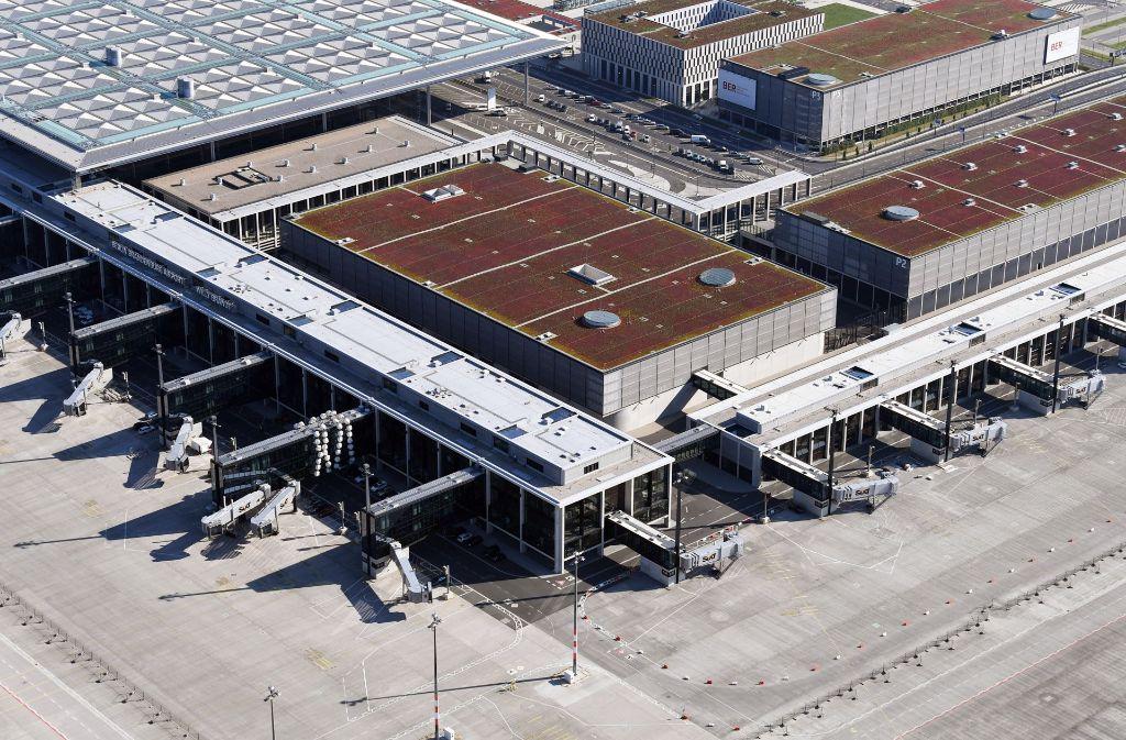 Ob der Berliner Flughafen 2018 eröffnen kann, wird von manchen angezweifelt. (Archivfoto) Foto: dpa-Zentralbild