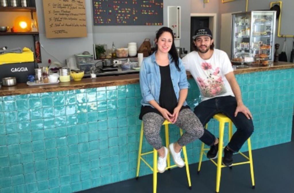 Für Laura Martin und ihren Bruder Jacques war eine kleine Kaffeebar schon immer ein großer Traum. Foto: Ina Schäfer