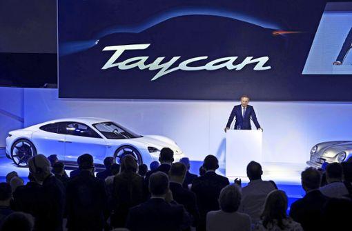 Der erste Elektro-Sportwagen von Porsche heißt Taycan