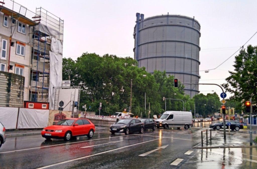 Am Gaskessel wird zurzeit mehr gestanden als gefahren. Foto: Jürgen Brand
