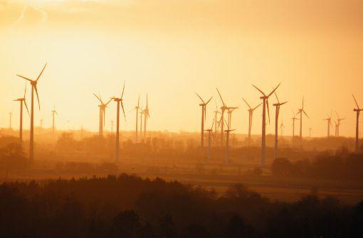 Windkraft spielt eine bedeutende Rolle für die Energiewende.