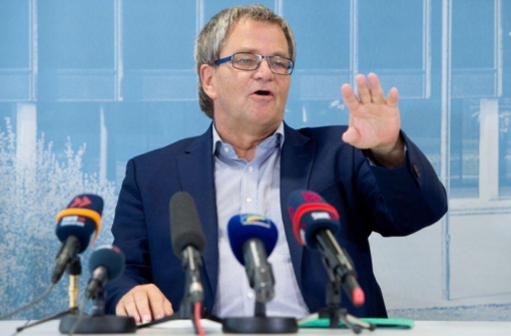 Der Grünen-Politiker Uli Sckerl bleibt Obmann im zweiten U-Ausschuss zum Polizeieinsatz gegen S21-Gegner im Schlossgarten. Foto: dpa