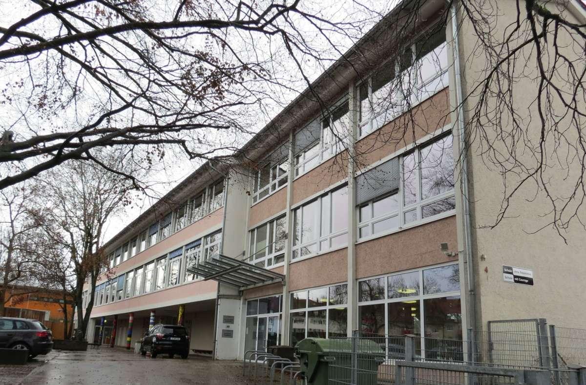 Am Schulstandort Stammheim herrscht akuter Platzmangel. Foto: Bernd Zeyer