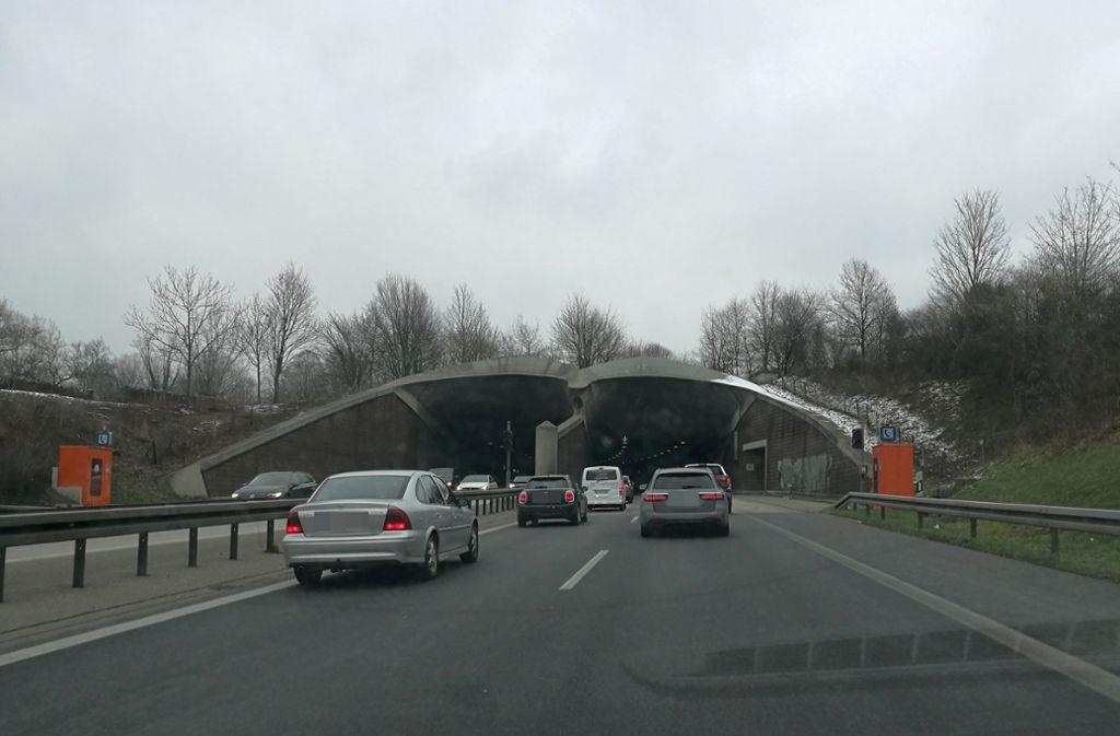 Der Kappelbergtunnel wird jeweils ab 23 Uhr gesperrt. Foto: Patricia Sigerist