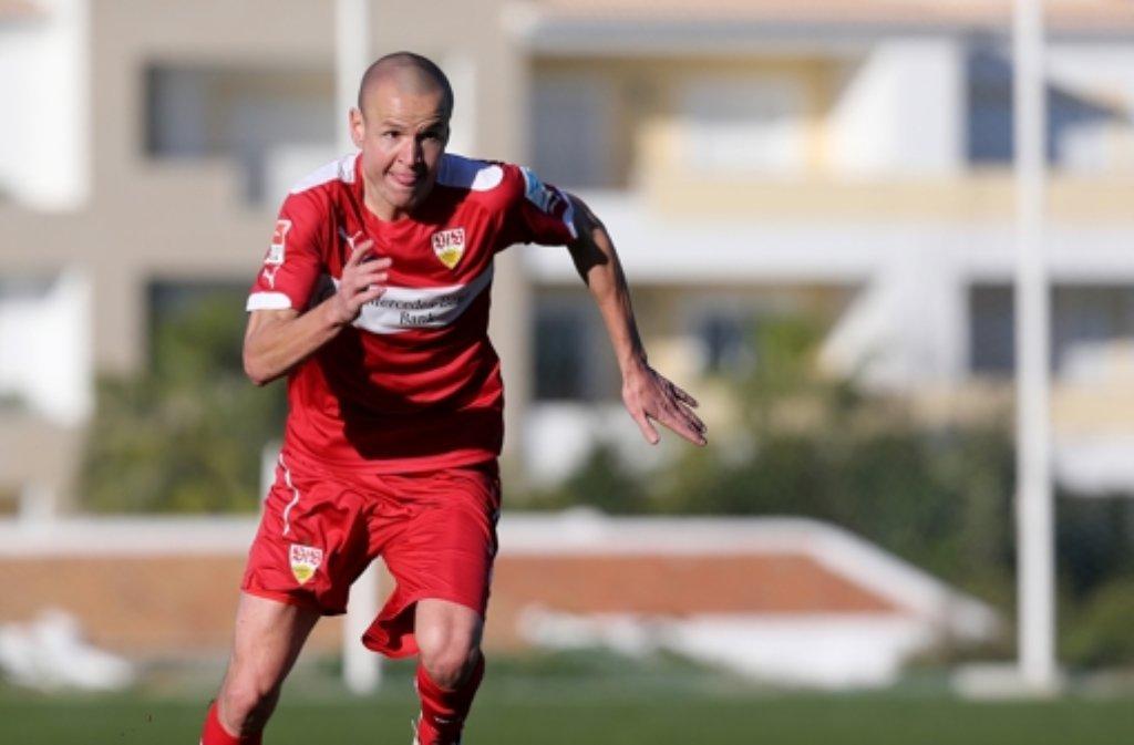 VfB-Mittelfeldmann Adam Hlousek ist wieder in den Kreis der tschechischen Nationalmannschaft berufen worden. Foto: Pressefoto Baumann