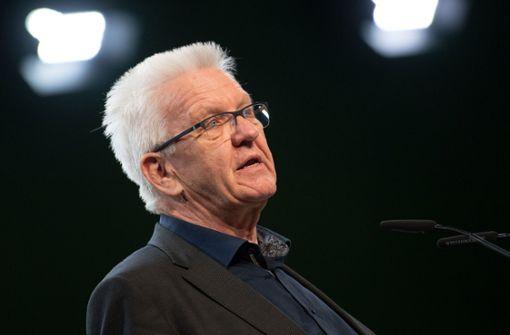 Winfried Kretschmann mahnt AfD zu Ende der Diffamierungen an