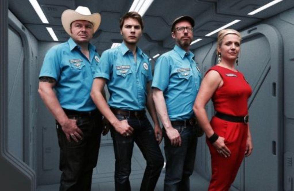 Los Santos: Space Rangers bei der Arbeit. Foto: Nina Rustenbach