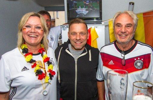Fußballgucken mit  Ex-Europameister