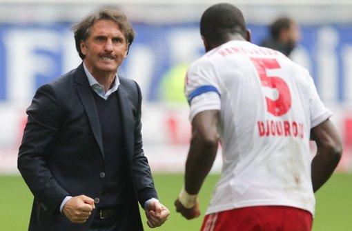 HSV feiert 3:2-Sieg gegen Augsburg
