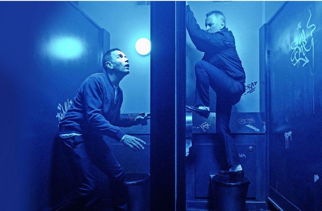 "Ewan McGregor (links) und Robert Carlyle in ""T2 Trainspotting"" Foto: Berlinale"