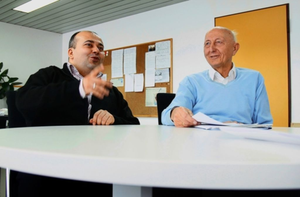 Ismail Temel und Gert Knödler wollen gleiche Bildungschancen für alle. Foto: factum/Granville