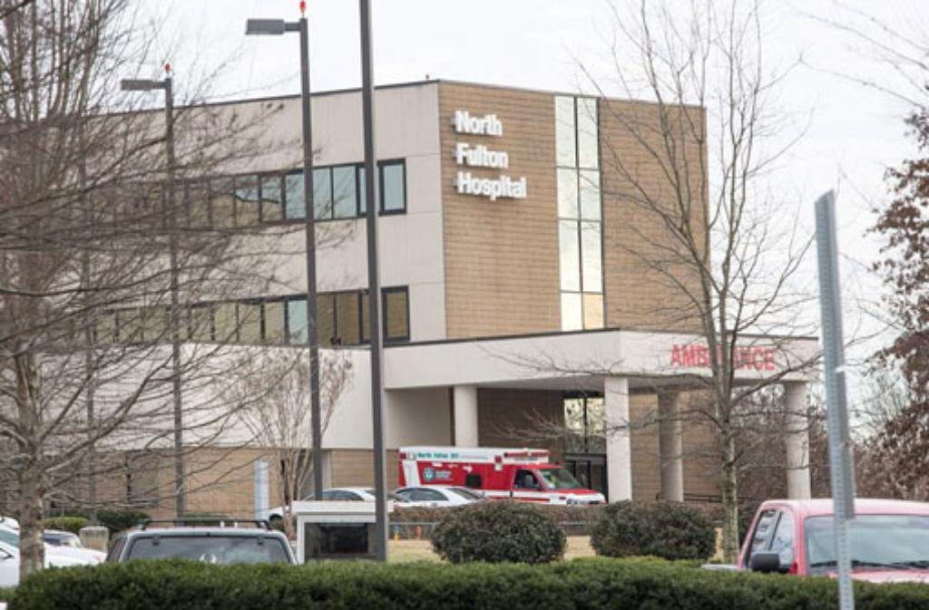 Bobbi Kristina Brown, die Tochter von Whitney Houston, wurde ins North Fulton Hospital eingeliefert. Foto: dpa