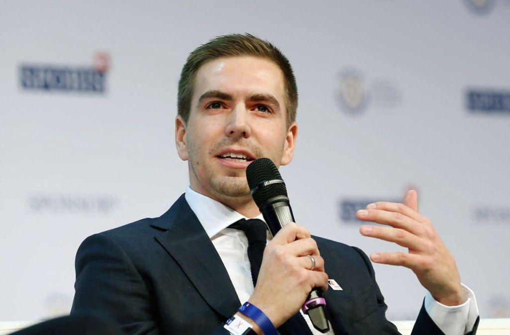 Philipp Lahm bekäme im Zuge der Berufung auch einen Platz im DFB-Präsidium. Foto: dpa