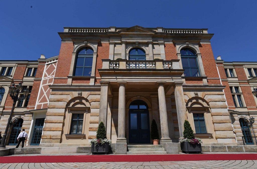 Ein Kultort für Wagner-Liebhaber – aber diesen Sommer bleibt das Festspielhaus in Bayreuth geschlossen. Foto: AFP/Christof Stache