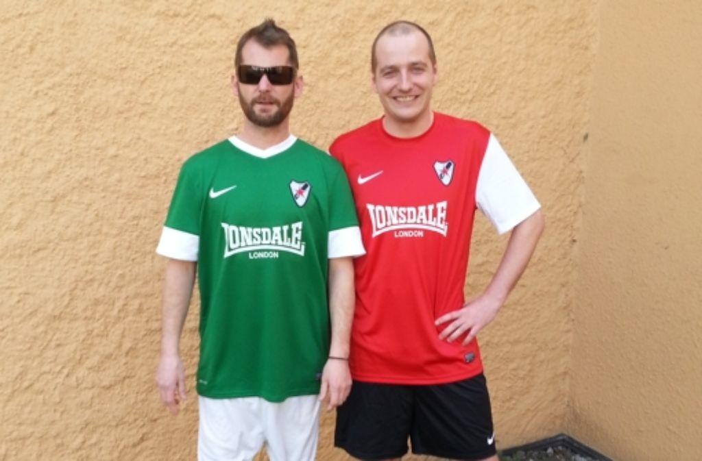 Auf den Trikots des Leipziger Fußballvereins Roter Stern prangt seit Kurzem das Logo des Londoner Labels Lonsdale. Foto: Roter Stern Leipzig