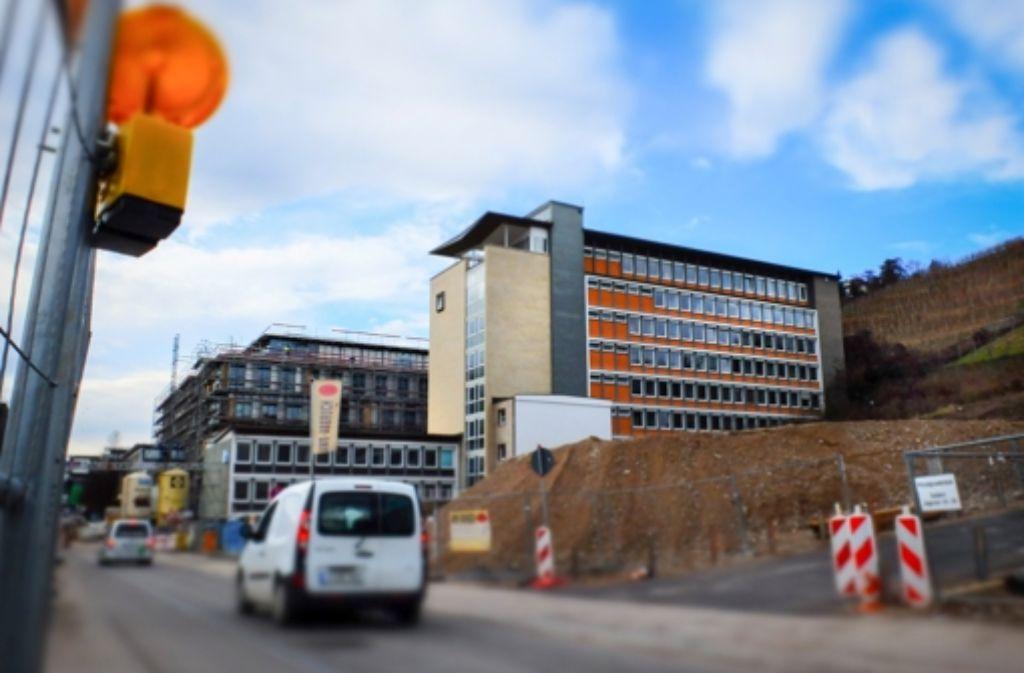 Das ehemalige IHK-Gebäude soll abgerissen werden. Foto: Michael Steinert