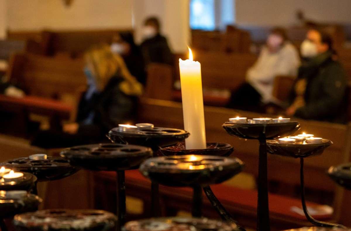 Aufgrund von Corona treffen sich die Menschen beim Ökumenischen Kirchentag fast ausschließlich digital. Foto: dpa/Axel Heimken